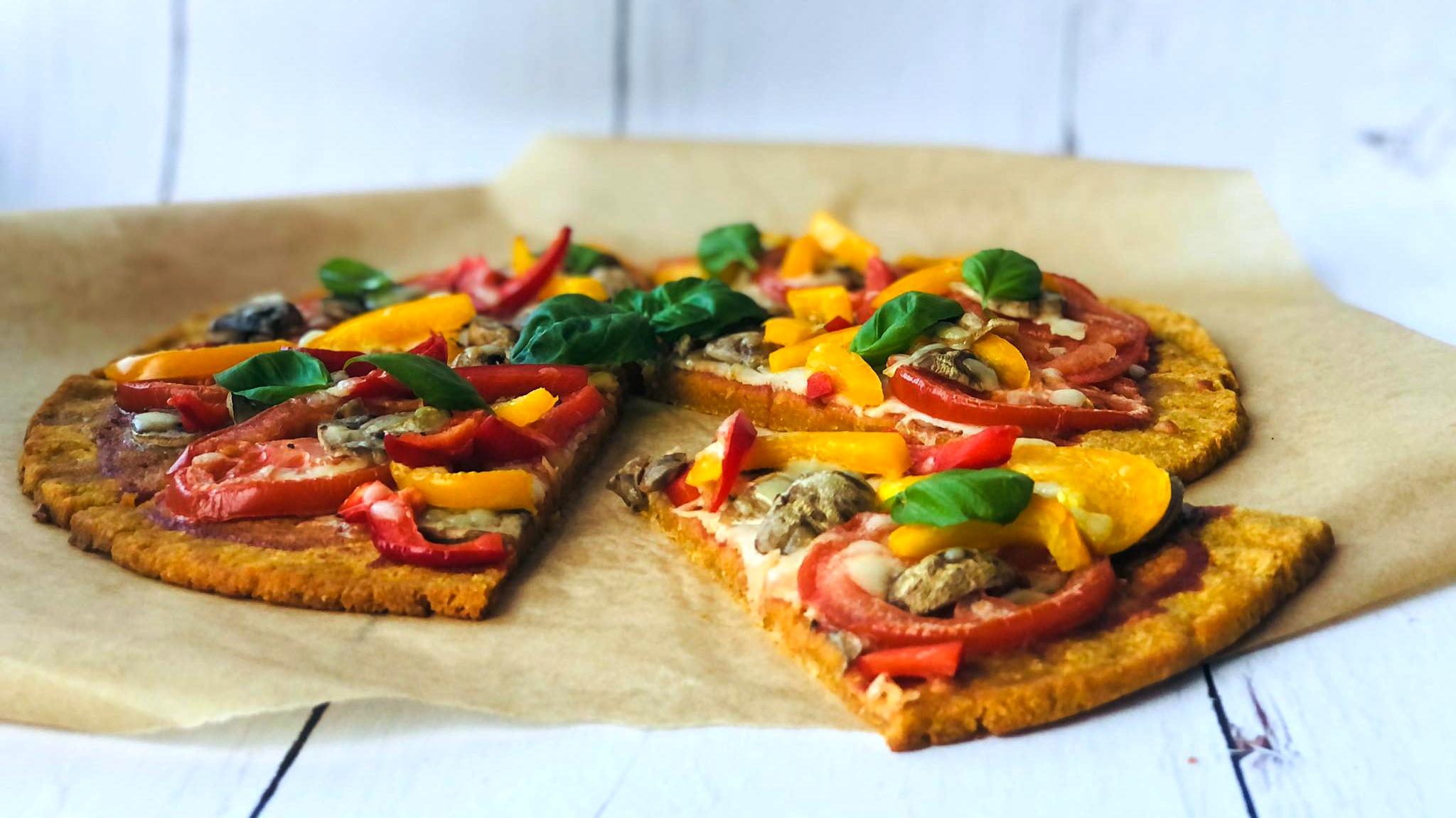 Pizza z batata – dwuskładnikowe i bezglutenowe ciasto
